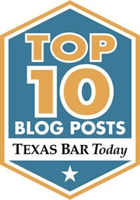 Texas Bar Today Top 10 Badge