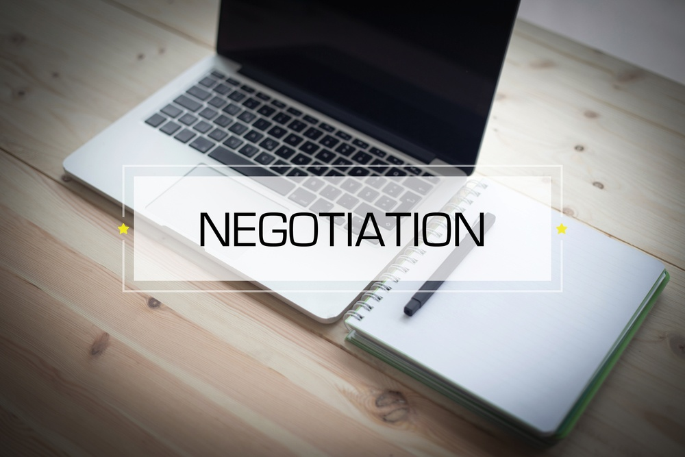 negotiating with vendors and suppliers